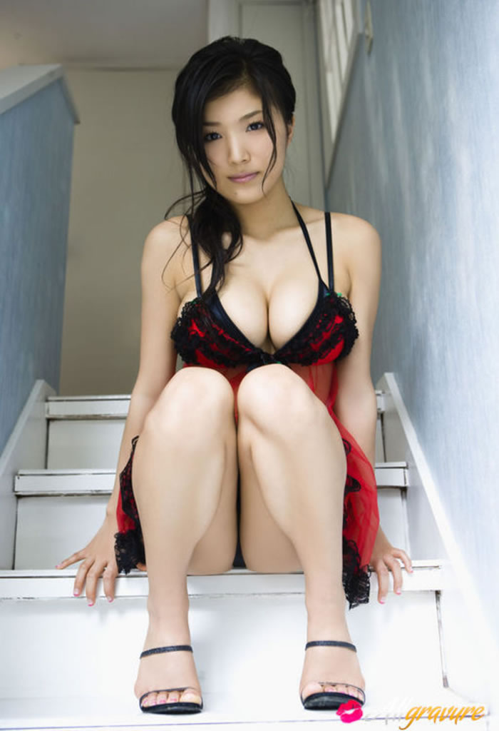 Busty asian lingerie have