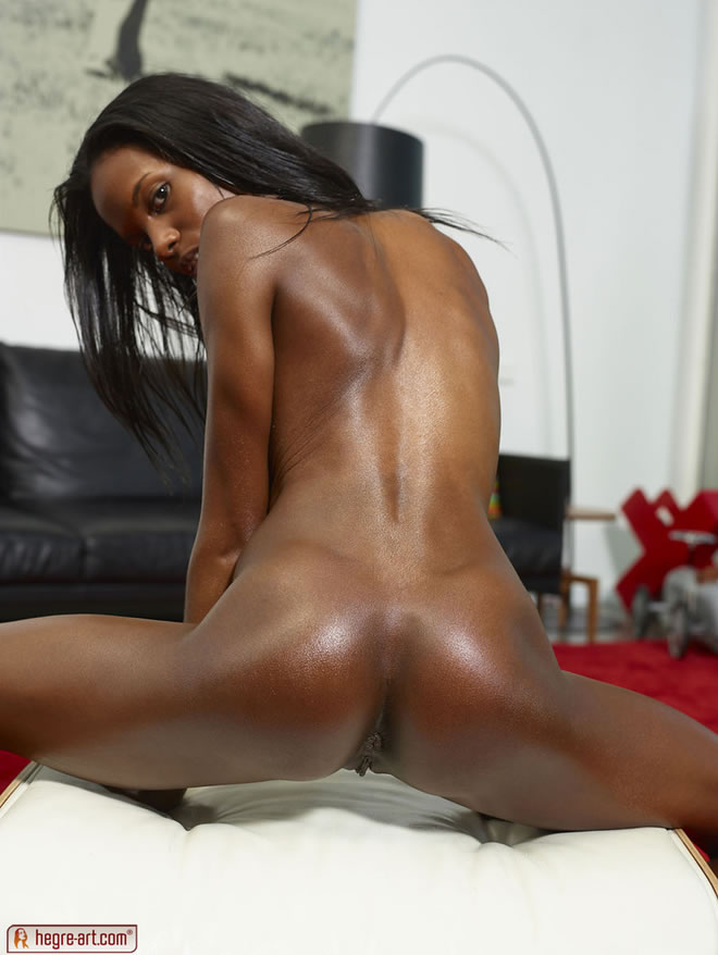 Excellent Skinny black nudes let's